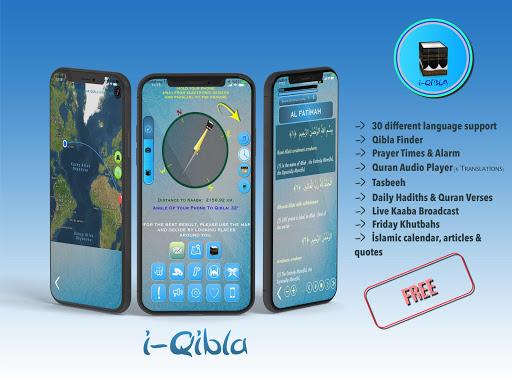 Qibla Compass for Namaz, Qibla Direction, u0627u0644u0642u0628u0644u0629 2.2.6 Screenshots 2