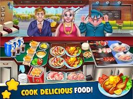COOKING FUN Crazy Chef Kitchen Craze Cooking Games