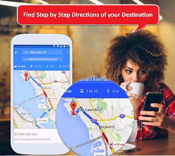 GPS Navigation 2021, Satellite Maps, Route Planner 1.0.5 Screenshots 1