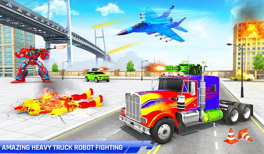 Police Truck Transform Robot 51 Screenshots 7