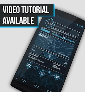 Future ctOS – UCCW skin/theme 1.0.5 MOD for Android 1