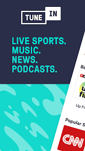 TuneIn Radio: Live News, Sports & Music Stations Screenshot