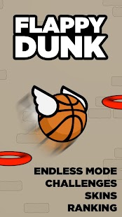 Flappy Dunk Screenshot