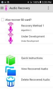 Audio Recovery APK Download For Android 1