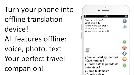 Offline Translator: SpanishEnglish Free For Pc/ Computer Windows [10/ 8/ 7] And Mac 1