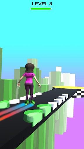 Sky Parkour Roller 8 screenshots 3