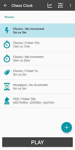 Chess Clock - Game Timer & Stats  screenshots 2