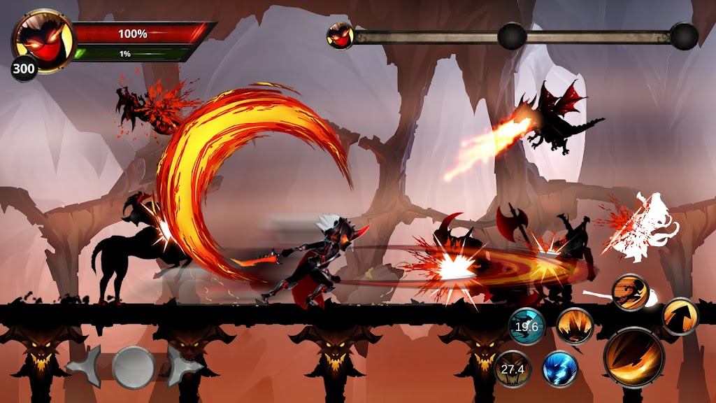 Stickman Legends: Shadow War Offline Fighting Game poster 22