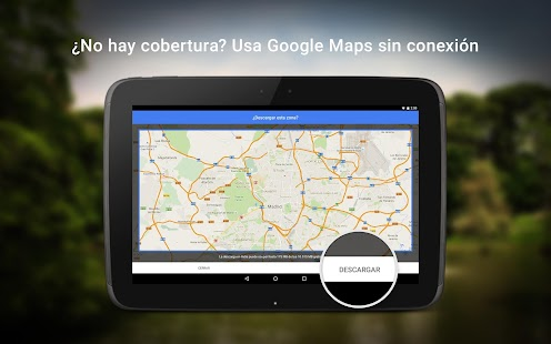 Google Maps - Navegación y transporte público Screenshot