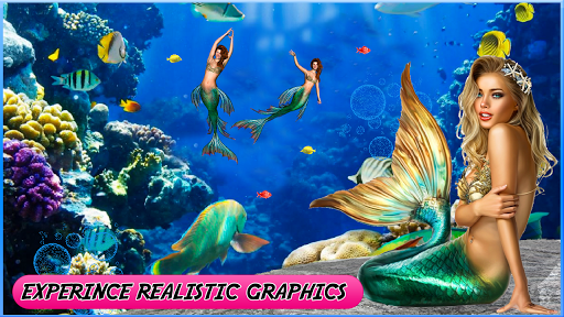 Mermaid simulator 3d game - Mermaid games 2020 2.5 screenshots 1