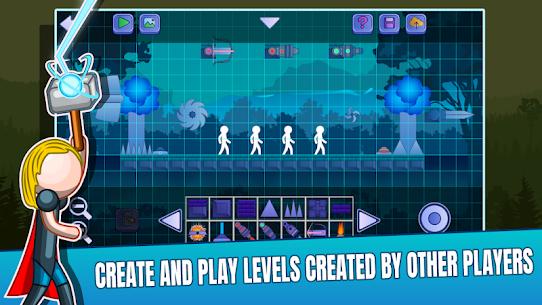 Stick Fight Online: Multiplayer Stickman Battle Mod Apk 2.0.36 (Unlimited Money) 4
