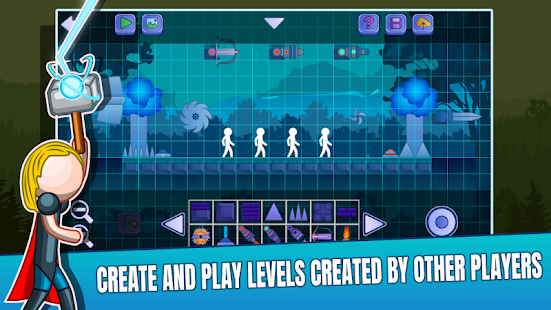 Stick Fight Online: Multiplayer Stickman Battle 2.0.36 APK + Мод (Unlimited money) за Android