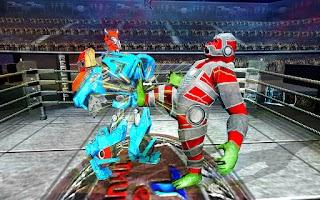 Futuristic Gorilla Ring Robot Fight Games 2020