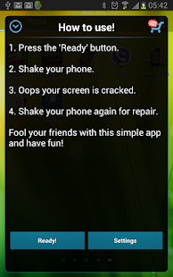 Crack Your Screen Prank Screenshot