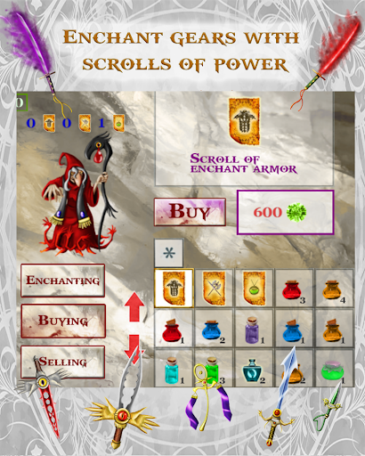 Fantasy Cave D&D Style RPG 2.01 screenshots 8