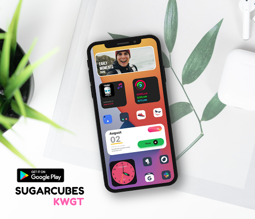 Download APK: Sugarcubes KWGT v2021.May.18.16 [Paid]