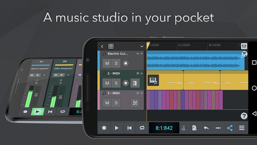 n-Track Studio DAW Beat Maker, Record Audio, Drums 9.3.6 Screenshots 1