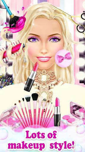 Princess HAIR Salon Makeup Dress up Girl Games android2mod screenshots 6