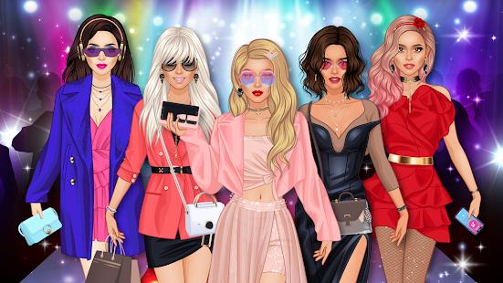ファッションショーの変身-メイクアップ&ドレスアップサロン