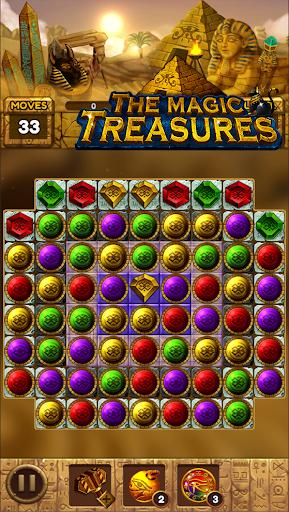 The magic treasures: Pharaoh's empire puzzle apkslow screenshots 22