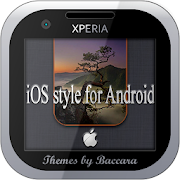 "XPERIA™ Theme ""iOS style for ANDROID"""