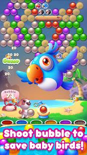 Bubble Bird rescue 2019:  bubble shooter blast