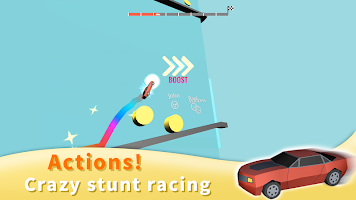 Tear Tower : Crazy Stunt Infinite Jumping Car