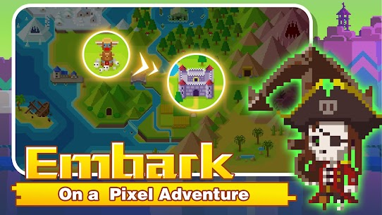 Tiny Pixel Knight – Idle RPG Adventure Tales Mod Apk 1.0.5 (Mod Gold Coins) 7