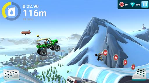 Télécharger MMX Hill Dash 2: monster trucks, voitures & motos apk mod screenshots 2
