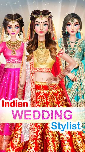 Indian Wedding Stylist - Makeup &  Dress up Games 0.17 screenshots 3