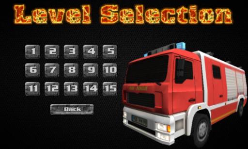 3d firefighter parking screenshot 3