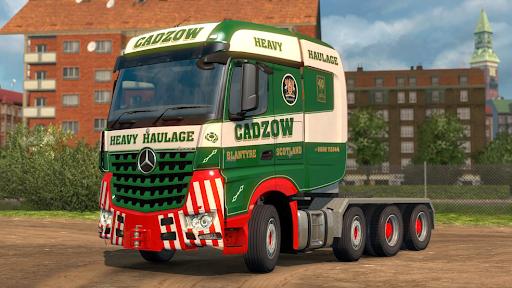 Euro Cargo Truck Simulator 2020 apkdebit screenshots 8