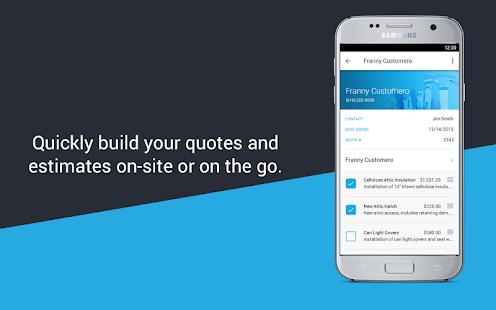 Invoice Maker & Simple Contractor Estimating App