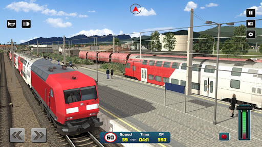City Train Driver Simulator 2019: Free Train Games 4.4 Screenshots 13