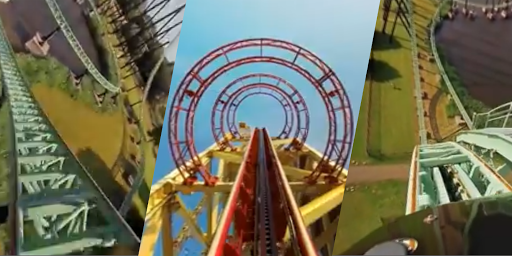 VR Thrills: Roller Coaster 360 (Cardboard Game) 2.1.7 Screenshots 7