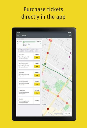 BVG Fahrinfo: Bus, Train, Subway & City Map Berlin 6.8.3 (108) Screenshots 13