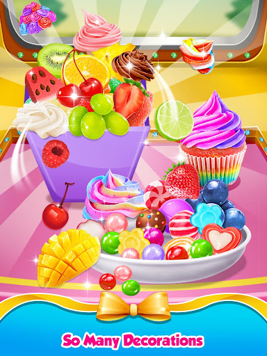 Rainbow Princess Bakery - Make Cupcake & Donut 1.4 screenshots 8