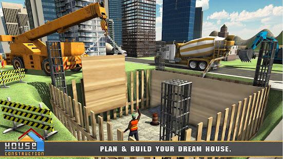 City House Construction Simulator Excavator Games 1.8 Screenshots 22