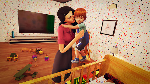 Real Mother Life Simulator- Happy Family Games 3D  Pc-softi 11