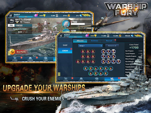 Warship Fury android2mod screenshots 12
