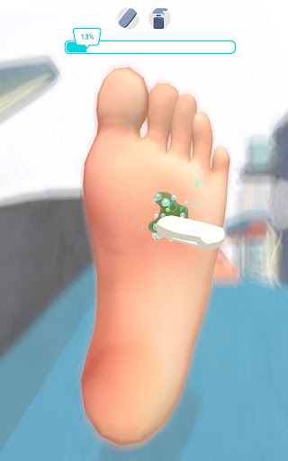 Foot Clinic - ASMR Feet Care 1.4.1 screenshots 6