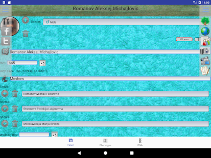 Genealogical trees of families screenshots 19