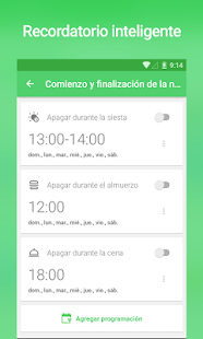 Recordatorio para beber agua - Alerta y Registro Screenshot