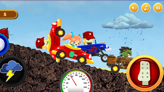 Défi de course automobile - Course automobile grimpante