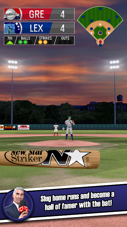New Star Baseball  poster 2