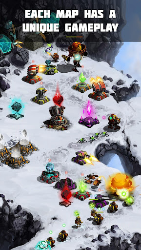 Ancient Planet Tower Defense Offline  screenshots 12