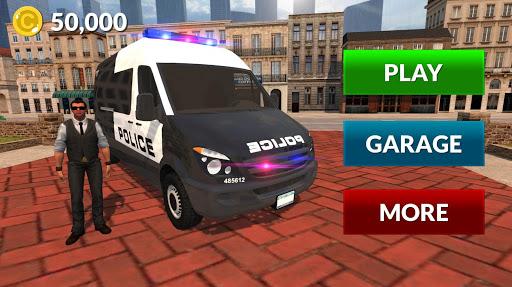 American Police Van Driving: Offline Games No Wifi 1.1 screenshots 4