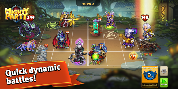 Mighty Party: Magic Arena