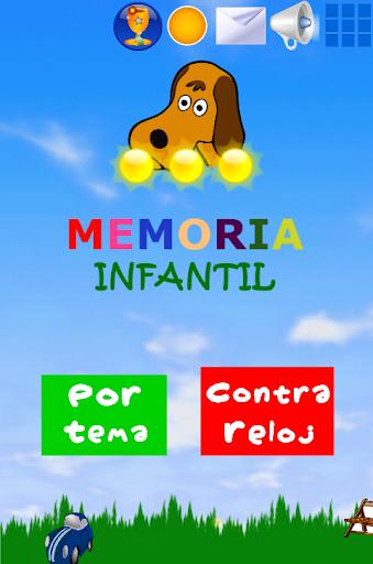 Juego Memoria Infantil Niu00f1os 4.5 screenshots 1