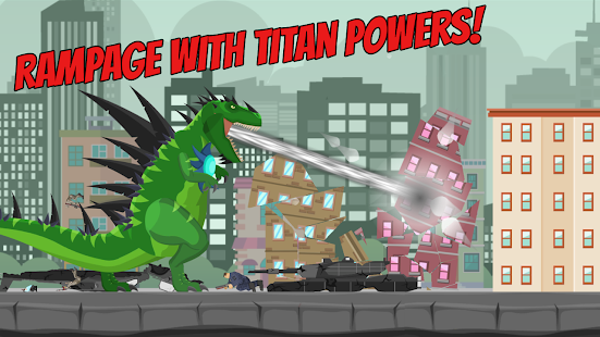 Hybrid Titan Rex: City Rampage [v0.3] APK Mod for Android logo
